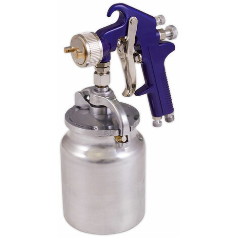 Sealey S717 Suction Feed Spray Gun 1.7mm Set-Up
