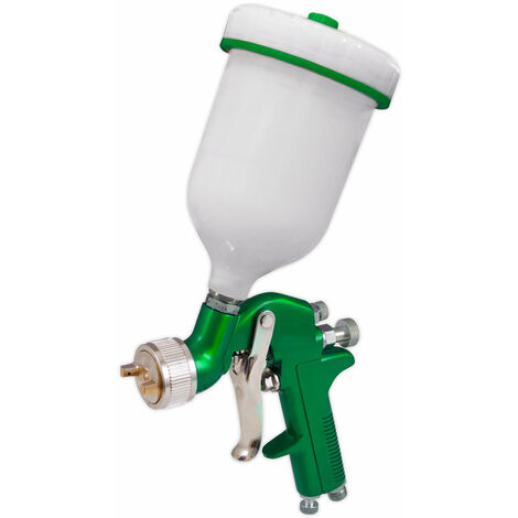 Sealey S717G Gravity Feed Spray Gun 1.7mm Set-Up
