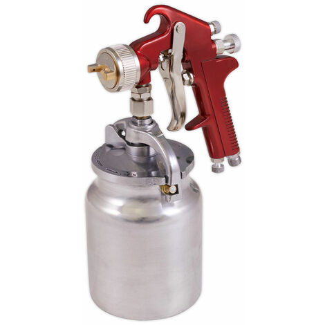 Sealey S720 Suction Feed Spray Gun 2mm Set-Up