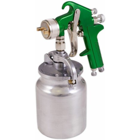Sealey S725 Suction Feed Spray Gun 2.5mm Set-Up