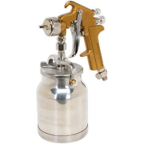 Sealey S775 Spray Gun Suction Feed Siegen Brand 1.7mm Set-Up