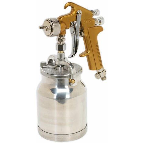 Sealey S775 Spray Gun Suction Feed Siegen Brand 1.8mm Set-up