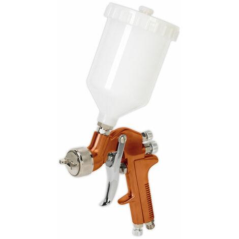 Sealey S775G Spray Gun Gravity Feed Siegen Brand 1.3mm Set-Up