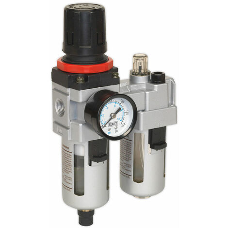 Sealey SA2001 Air Filter/regulator/lubricator Heavy-duty