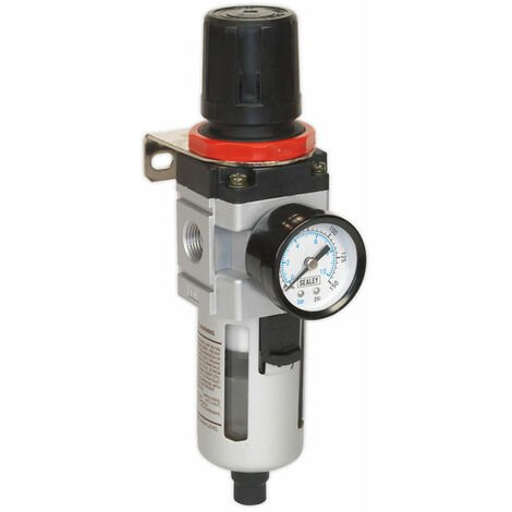"""main image of """"Sealey SA2001/FR Air Filter/regulator with Gauge Heavy-duty"""""""