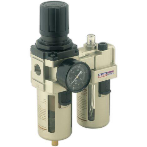 Sealey SA206 Air Filter/regulator/lubricator Max Airflow 105cfm