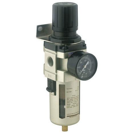 Sealey SA206FR Air Filter/Regulator Max Airflow 140cfm