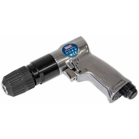 Sealey SA241 Air Drill 10mm Reversible with Keyless Chuck