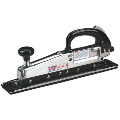 Sealey SA32 Air Long Bed Sander 400 x 70mm Twin Piston In-line