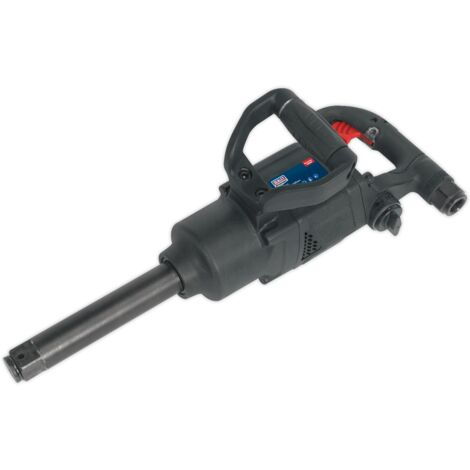 "Sealey SA686 Air Impact Wrench 1""Sq Drive Twin Hammer - Compact"