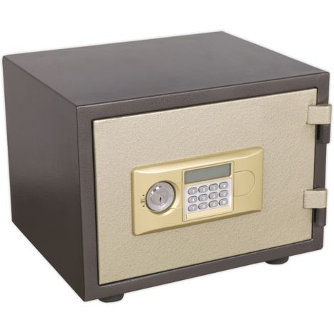 Sealey SCFS01 Electronic Combination Fireproof Safe 400 x 330 x 330mm
