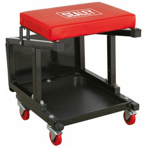 Sealey SCR16 Mechanic's Utility Seat & Step Stool