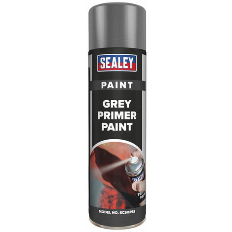 Sealey SCS029S Grey Primer Paint 500ml