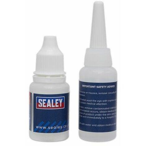 Sealey SCS908 Fast-Fix Filler & Adhesive - Black