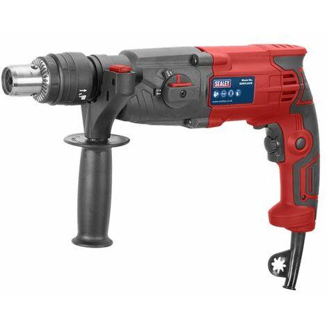Sealey SDSPLUS18 Rotary Hammer Drill SDS Plus 18mm 750W/230V