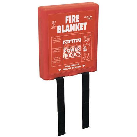 Sealey SFB11 1.1 x 1.1mtr Fire Blanket