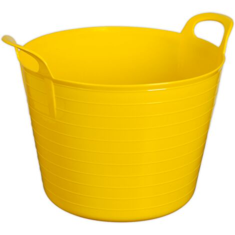 Sealey SFT40Y Heavy-Duty Flexi Tub 40L - Yellow