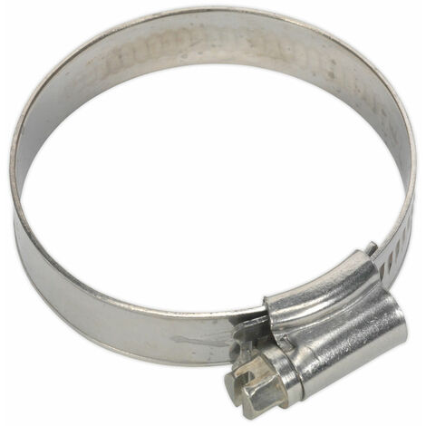 Sealey SHCSS1X Hose Clip Stainless Steel Ø35-51mm Pack of 10