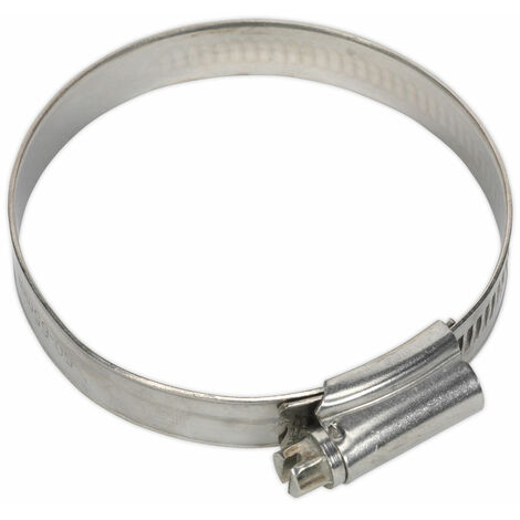 Sealey SHCSS2X Hose Clip Stainless Steel Ø55-64mm Pack of 10