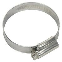 Sealey SHCSSM Hose Clip Stainless Steel 38-57mm Pack of 10