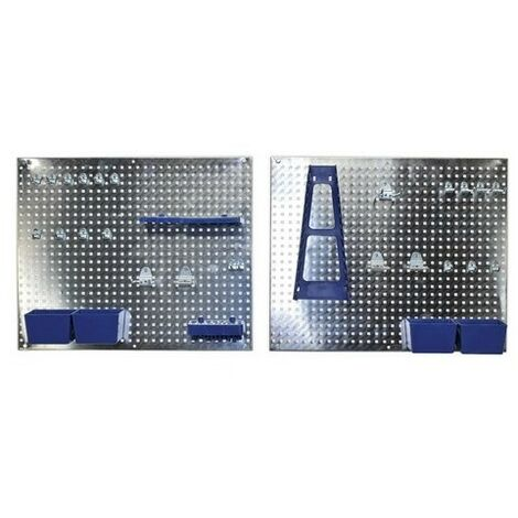 Sealey Siegen S01102 Wall Storage Pegboard Set 34pc