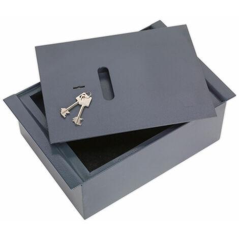 Sealey SKFS01 Key Lock Floor Safe 260 x 140 x 400mm