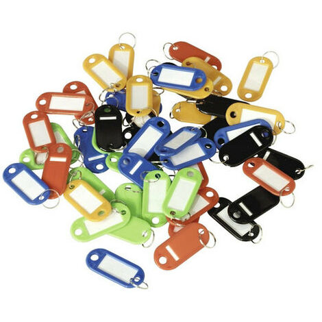 Sealey SKTAG50 50pc Key Tag Assortment
