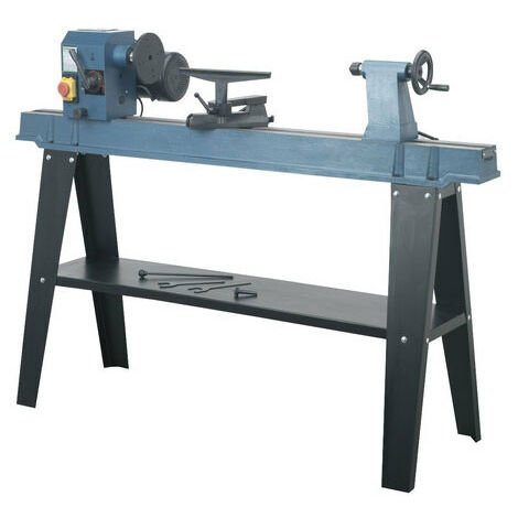 Sealey SM1100 10-Speed Wood Lathe 1100mm Centres