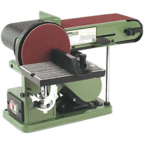 Sealey SM14 Belt/Disc Sander Bench Mounting 100 x 915mm/Ø150mm