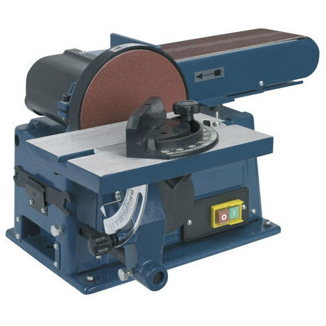 Sealey SM14 Benchtop 100mm Belt/Diameter 150mm Disc Sander