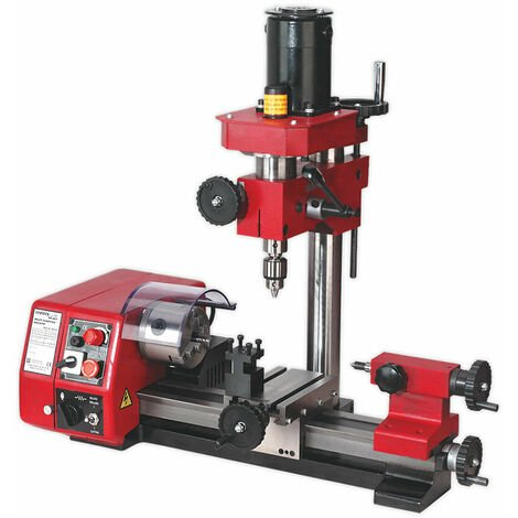 "main image of ""Sealey SM2503 Mini Lathe & Drilling Machine"""