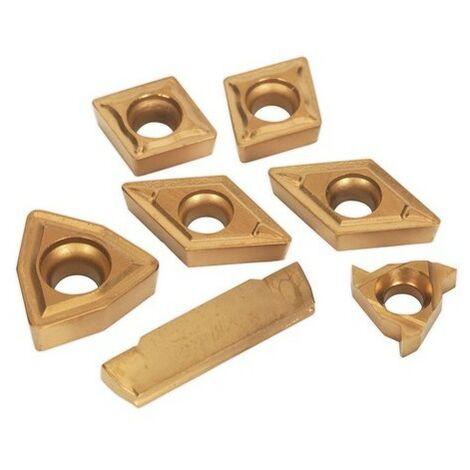 Sealey SM3025CS5R Tips for Lathe Turning Tool Set SM3025CS5 Tips for Lathe Turning Tool Set SM3025CS5