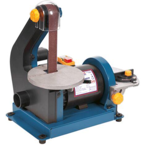 Sealey SM750 Belt/Disc Sander 25 x 762mm/Ø125mm 250W/230V