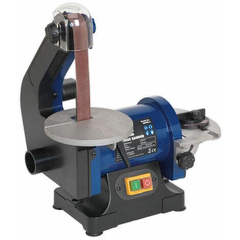 Sealey SM750 Belt/Disc Sander 25 x 762mm/125mm 250W/230V