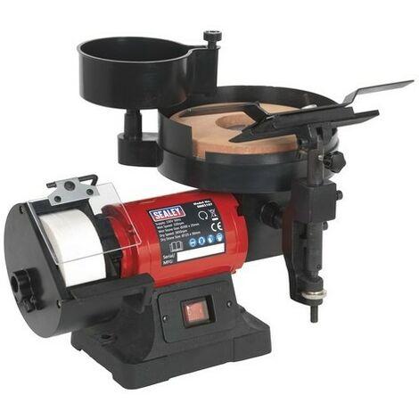 Sealey SMS2107 Bench Grinder/Sharpener Wet & Dry 200/125mm 250W/230V