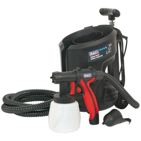 """main image of """"Sealey Spray Gun Kit Oil Water or Based Paint Stains Interior Exterior HVLP3000"""""""