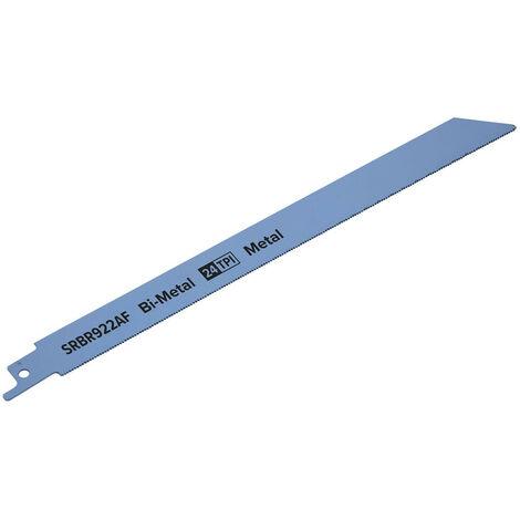 Sealey SRBR922AF Reciprocating Saw Blade Metal 230mm 24tpi - Pack of 5