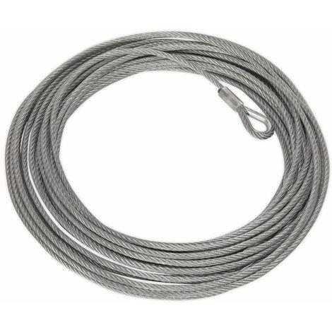 Sealey SRW5450.WR Wire Rope (9.2mm x 26mtr) for SWR4300 & SRW5450
