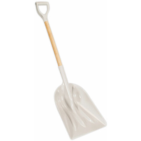 Sealey SS02 General Purpose Shovel with 900mm Wooden Handle