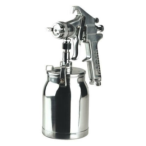 Sealey SSG1 Suction Feed Spray Gun 1.8mm Set-Up