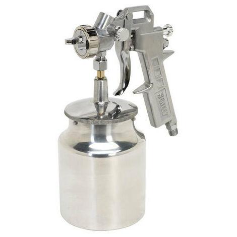 Sealey SSG2 Suction Feed Spray Gun 1.5mm Set-Up