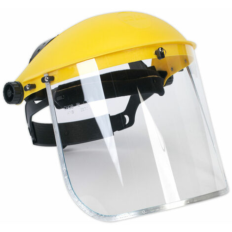 Sealey SSP11E Brow Guard & Full Face Shield