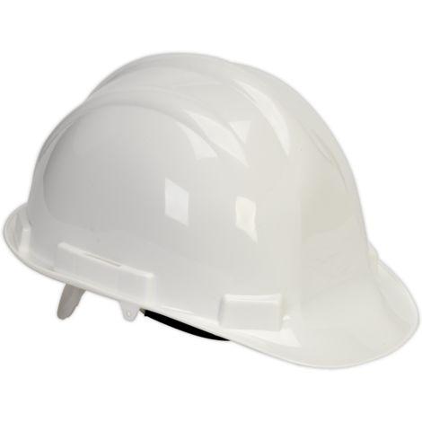 Sealey SSP17W Safety Helmet White BS EN 397