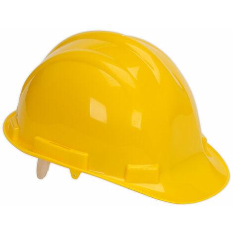 Sealey SSP17Y Safety Helmet Yellow BS EN 397