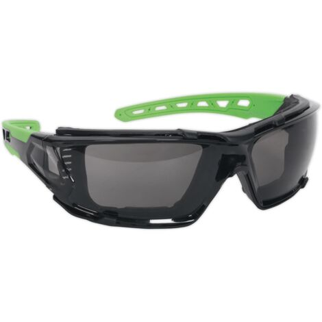 """main image of """"Sealey SSP69 Safety Spectacles with EVA Foam Lining - Anti-Glare Lens"""""""