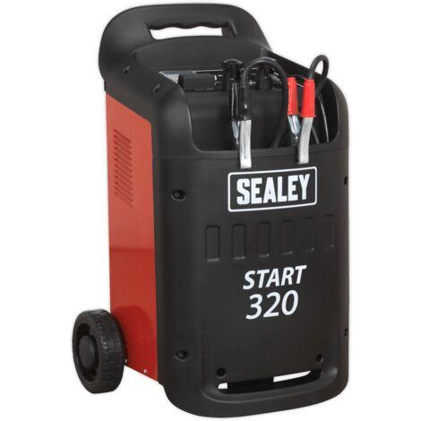 Sealey START320 Starter/Charger 320/45Amp 12/24V 230V