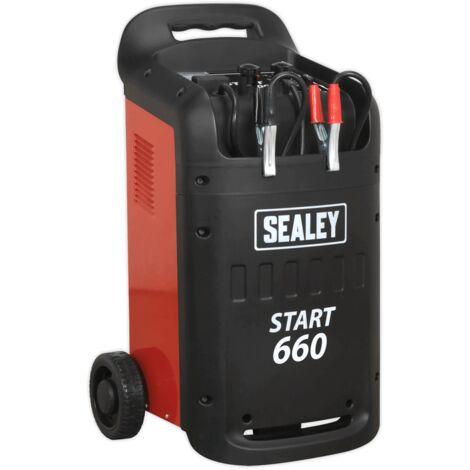Sealey START660 Starter/Charger 660/100Amp 12/24V 230V