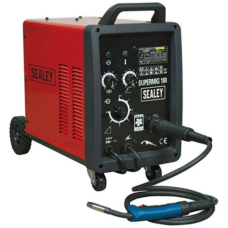Sealey SUPERMIG180 Professional MIG Welder 180Amp 230V with Binzel?? Euro Torch