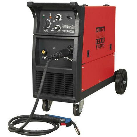 Sealey SUPERMIG255 250Amp Professional MIG Welder with Binzel Euro Torch