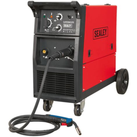 Sealey SUPERMIG255 Professional MIG Welder 250Amp 230V with Binzel Euro Torch